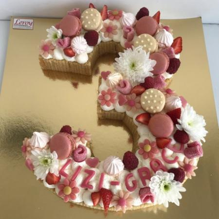 Chiffres (number cake)